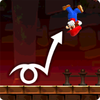 Mario performing a Landing Roll, and a Rolling Jump in Super Mario Run