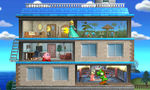 Tomodachi Life stage in Super Smash Bros. for Nintendo 3DS.