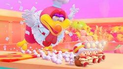 Cookatiel in Captain Toad: Treasure Tracker (Nintendo Switch)
