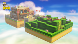 Shy Guy Heights from Captain Toad: Treasure Tracker