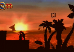DKCR Sunset Shore Letter N.png