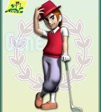 Artwork of Gene from Mario Golf: Advance Tour