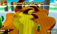Hole 2 of Mountain Course in Mario Golf: World Tour