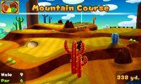 Hole 9 of Mountain Course in Mario Golf: World Tour