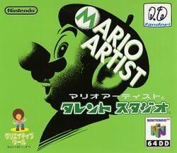 Mario Artist: Talent Studio coverart