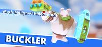 Buckler splash screen from Mario + Rabbids Kingdom Battle
