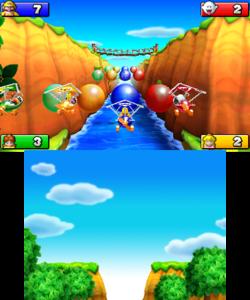 Screenshot of Mario Party: Island Tour.