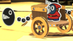 The Chariot Snifit from Paper Mario: Color Splash.