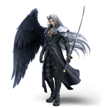 Artwork of Sephiroth from Super Smash Bros. Ultimate