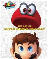 The cover of The Art of Super Mario Odyssey. Scan uploaded by Amazon.com.