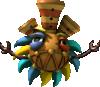 The flute Tiki