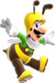 Bee Luigi Super Mario Galaxy.png