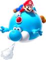 Blimp Yoshi Art - Super Mario Galaxy 2.png