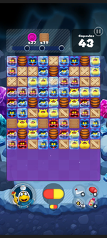 Stage 512 from Dr. Mario World