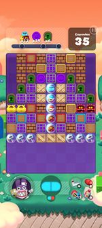 Stage 587 from Dr. Mario World