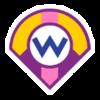 Wario's emblem from baseball from Mario Sports Superstars
