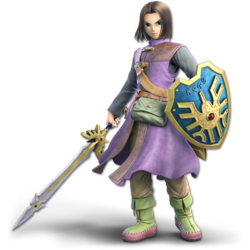The Hero of Dragon Quest XI