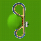 <small>N64</small> Luigi Raceway bottom screen map