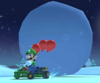 The icon of the Luigi Cup challenge from the Ice Tour and the Baby Mario Cup challenge from the Frost Tour in Mario Kart Tour