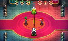 The Border Jump minigame in Mario & Luigi: Superstar Saga + Bowser's Minions