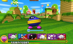 Screenshot of World 1-5, from Puzzle & Dragons: Super Mario Bros. Edition.