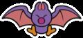 Swoop sprite from Paper Mario: Color Splash