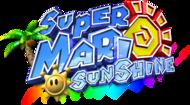 The PAL logo for Super Mario Sunshine