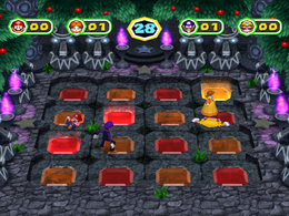 Smashdance at night from Mario Party 6