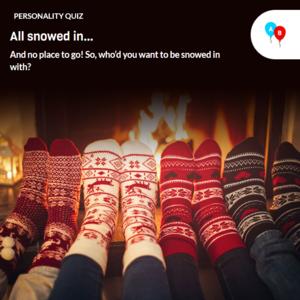 Icon for Snowed In Fun Personality Quiz