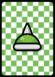 A Spike Helmet Card in Paper Mario: Color Splash.