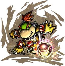 Artwork of Bowser Jr. from Mario Strikers Charged