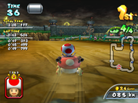 Castle Wall from Mario Kart Arcade GP 2