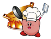 Cook Kirby Sticker