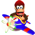 Diddy in Plane DKR.png