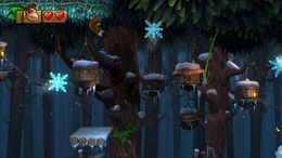 Forest Folly from Donkey Kong Country: Tropical Freeze
