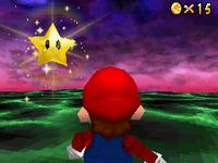 Mario and the Jumbo Star.