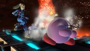 Kirby with Zero Suit Samus's ability