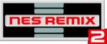 English logo of NES Remix 2.