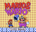 Mario And Wario Title Screen.png