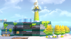 Fort Flaptrap in Super Mario 3D World + Bowser's Fury
