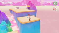 An Image of the Meat Plateau from Super Mario Odyssey