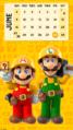 Super Mario Maker 2 June Calendar B Phonepaper.png