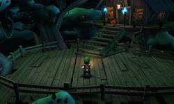 Tree House in Luigi's Mansion: Dark Moon