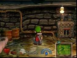 The Breaker Room from Luigi's Mansion
