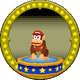 A figure with Diddy Kong on it.