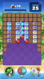 Stage 101 from Dr. Mario World