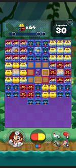 Stage 356 from Dr. Mario World
