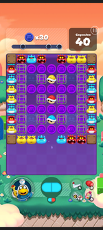 Stage 578 from Dr. Mario World