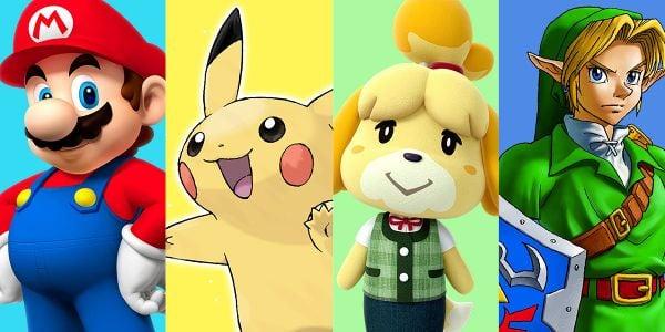 Banner for a Play Nintendo poll on characters from Nintendo 3DS games. Original filename: <tt>2x1_3DSMostTimeSpent_v03.0290fa98.jpg</tt>