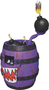 Artwork of a Kuchuka from Donkey Kong Country 3: Dixie Kong's Double Trouble!